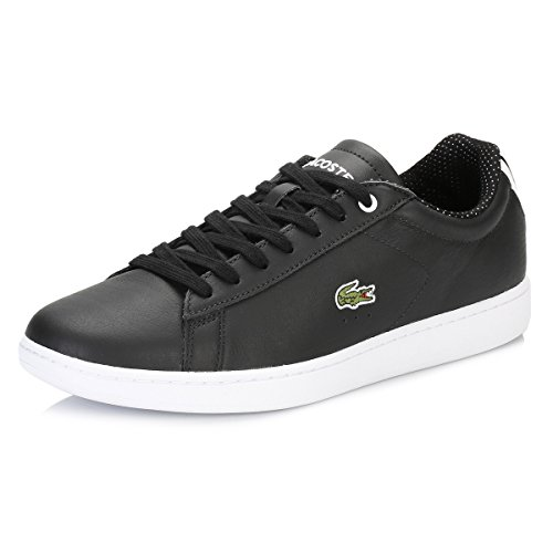 Lacoste Donna Nero Carnaby EVO 116 Sneakers-UK 5