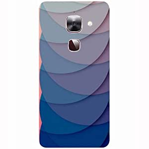 Casotec Waves Pattern Print Design 3D Printed Hard Back Case Cover for LeEco Le Max 2