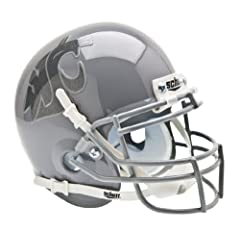 Buy NCAA Washington State Cougars Collectible Alt 1 Mini Helmet, Grey by Schutt