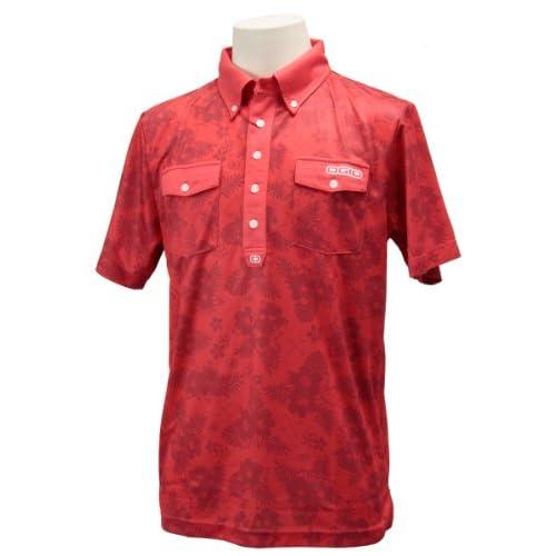 (オジオ)OGIO メンズ 半袖ボタンダウンシャツ 764611 RD レッド M