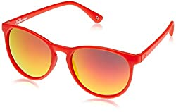 Knockaround Oval Sunglasses (Red) (MTGL1008 54)