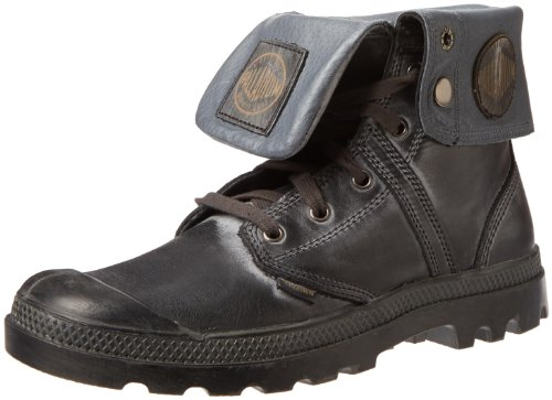 Palladium Mens Pallabrouse Baggy L2 Ankle Boots Gray Grau (Shadow/Metal) Size: 12 (46 EU)