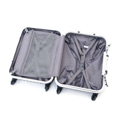 (ワールドスカイ) WORLD SKY AIR TRAVELER(エアートラベラー) スーツケース AT-47-008 BLUE(ミッドナイトブルー) Sサイズ(47cm)/約38L 機内持込 [並行輸入品]