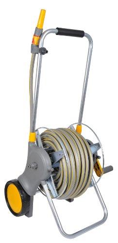 Hozelock 60m Assembled Metal Hose Cart with 30m Flexi Pro Hose