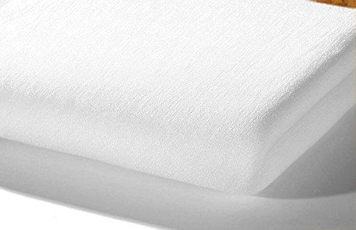 alvi-93400-lenzuolo-con-angoli-elastici-spugna-40x90-cm-bianco-per-letto-supplementare-per-bambini