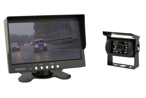7 inch TFT color monitor + Color Camera IP67 including 20 meter connection cable (12-24 Volt) Black Friday & Cyber Monday 2014