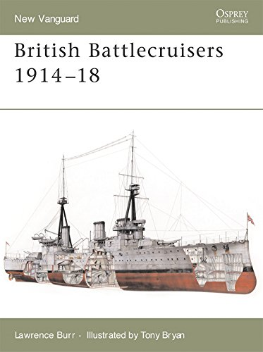 British Battlecruisers 1914-18 (New Vanguard)