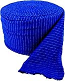 Blue Tubular Thigh Support Bandage (layflat 13cm) Wider than a G, 1 Metre. UK Made