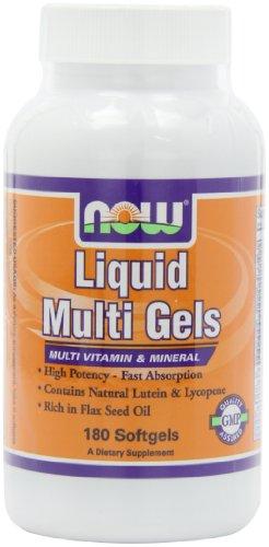 Now Foods Liquid Multi Softgels, 180-Count (Multivitamin Gel Caps compare prices)
