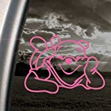 Winnie The Pooh Pink Decal Car Truck Bumper Window Pink Sticker