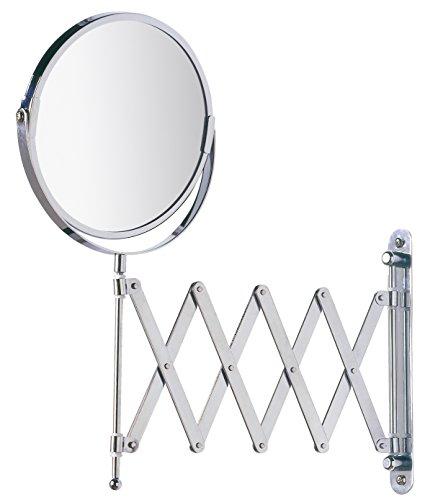 Wenko Kosmetik-Wandspiegel Teleskop Exclusiv, 300% Vergrößerung