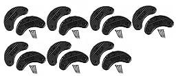 14 (7 Pair) Shoe Heel Plates Taps Extra Large & Nails