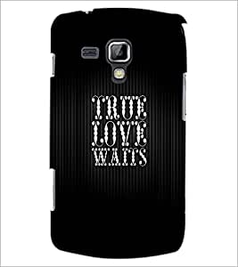 PrintDhaba Quote D-2992 Back Case Cover for SAMSUNG GALAXY S DUOS S7562 (Multi-Coloured)