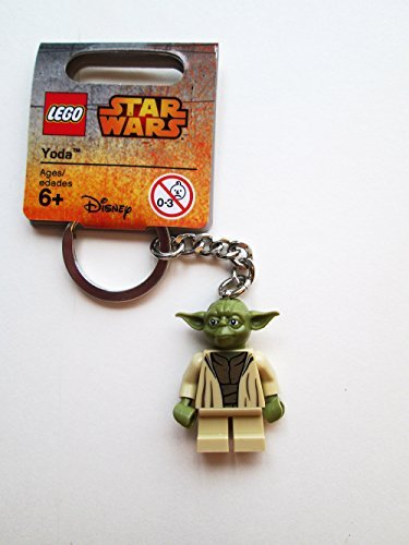 LEGO Star Wars Yoda 2015 Minifigure Key Chain 853449 - 1