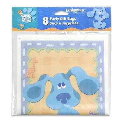 Blue's Clues 1st Birthday Favor Bags (8ct)