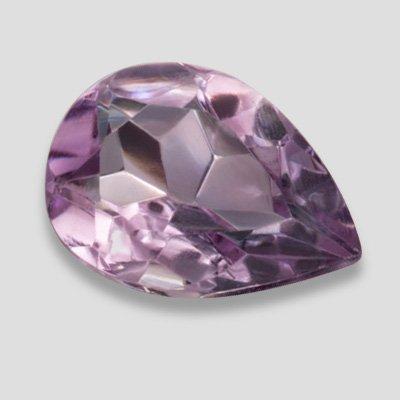 1.10 ct Stunning Purple Amethyst 9X6mm Size SI Clarity Loose Pear Shape Gemstone