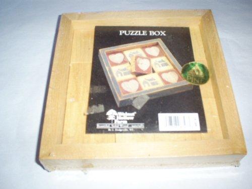 Puzzle Box Genuine American Pine - 1