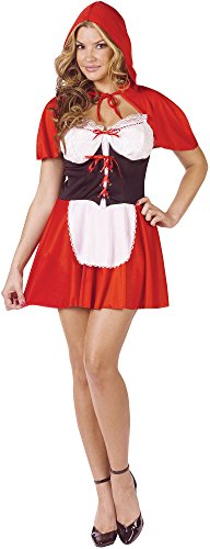 Red Hot Riding Hood Adult Costume Size:Small/Medium
