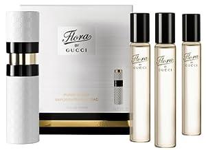 Gucci FLORA eau de toilette spray purse spray 4 x 15 ml