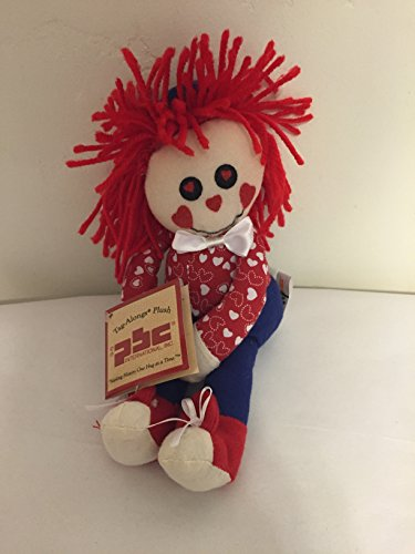 "TAG-ALONGS PLUSH 9"" RAG DOLL HUGGERS"