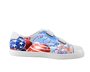 American Flag Shoes Canvas Sneakers