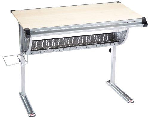 Links-50600450-IBO-Schreibtisch-Ahorn-Dekor-MDF-Metall-115x73x62-93-cm