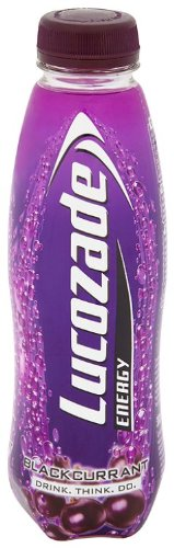 Lucozade Energy Blackcurrant Drink 380 Ml (pack Of 24)