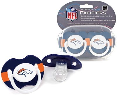Nfl Denver Broncos 2 Pack Pacifier front-515341