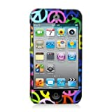 Importer520 Peace Sign Design Crystal Hard Skin Case Cover for Apple Ipod Touch iTouch 4th Generation 4g 4 8gb 32gb 64gb