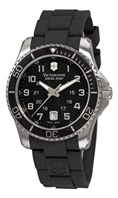 Victorinox Swiss Army Men's 241435 Maverick Rubber Black Dial Watch from Victorinox Swiss Army