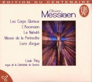 Messiaen : Oeuvres pour orgue 41rT4kCOi%2BL