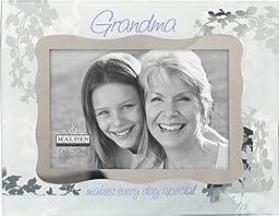 Malden Grandma Ornate Glass Picture Frame, 4x6 inch