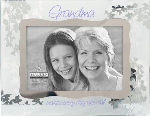 Malden Grandma Ornate Glass Picture Frame, 4x6 inch - 1