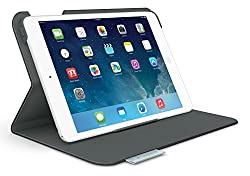 Logitech Folio Protective Case for iPad mini and iPad mini with Retina Display, Carbon Black (939-000876)