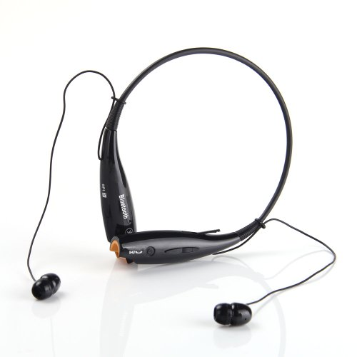 Joma™ Wireless Music Stereo Bluetooth Headset Universal Vibration Neckband Style Headset Earphone Headphone For Cellphones Such As Iphone 5S 5C 4S 4, Ipad 2 3 4 New Ipad, Ipod, Android, Samsung Galaxy,Tablet, Smart Phones Bluetooth Bluetooth Enabled Devic