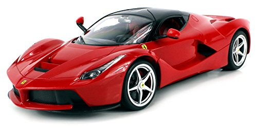 Velocity Toys Licensed Ferrari Laferrari Limited Edition Electric Remote Control Car 1:14 Scale Ready To Run Rtr W/ Vertical Opening Doors (Colors May Vary)