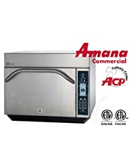 Amana Commercial Digital Microwave Convection High Speed Oven Combo 1.4 Cft Countertop Model Mxp22 by Amana