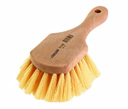 Osborn 81018SP Short Handle Utility Scrub Brush, 4-3/4\