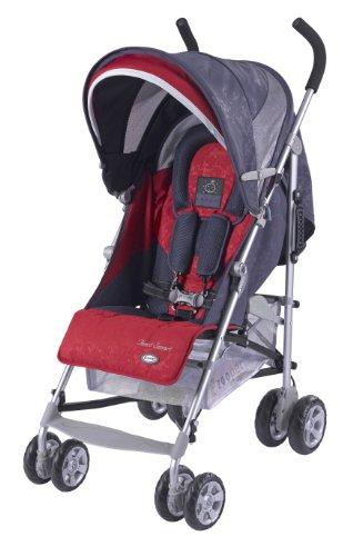Zooper Twist Smart Umbrella Stroller, Ruby Storm front-891055