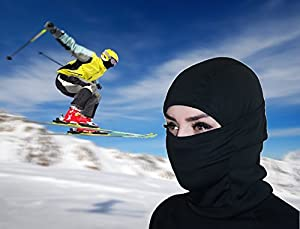 Balaclava Ski Mask Premium Face Mask Motorcycle Neck Warmer or Tactical Balaclava Hood by Self Pro