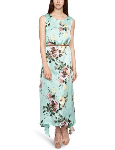 Full Circle Kasumi Maxi Women's Dress Sea Green