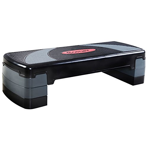 Apontus Aerobic Stepper Fitness Platform - Adjustable 4