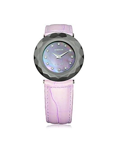 Jowissa Women's J1.161.L Safira 99 Purple/Mother Of Pearl Patent Calfskin Watch