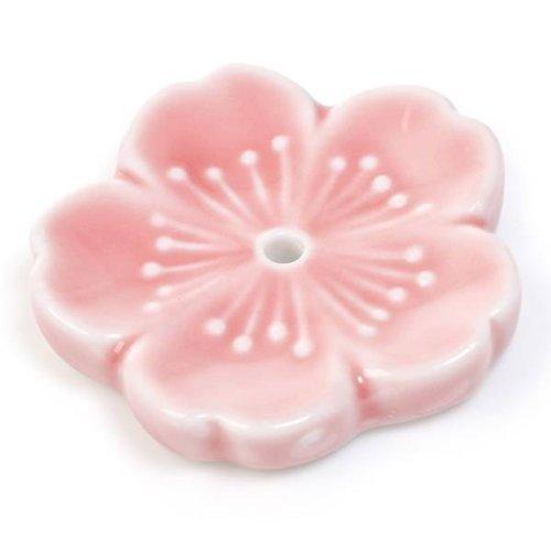 Rosa Cherry Blossom incienso japonés con función de atril