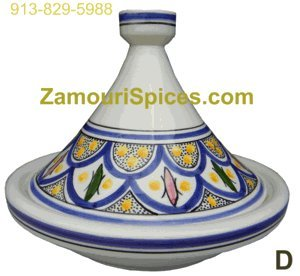Tagine Serving Safi Blue Med 25cm