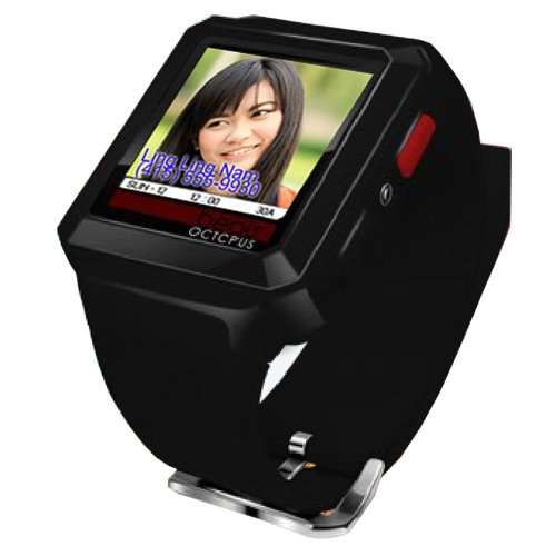 Bluetooth Watch w/ Vibration Caller ID Picture Display