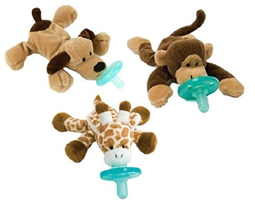 Wubbanub Infant Pacifier 3-Pack - People'S Choice front-969206