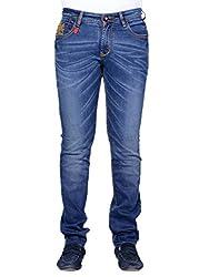 Moka Dark Blue Denim Slim Stretchable Jean