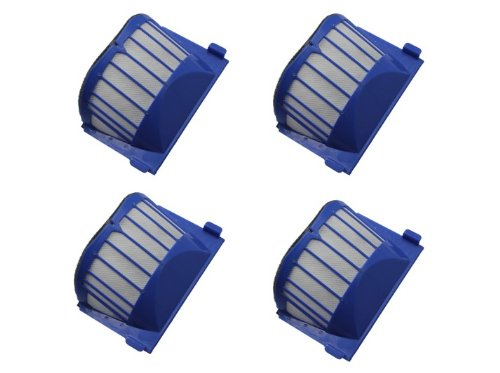 Cimc Llc For Roomba 500 Series Aero Vac Filter Blue 550 Aerovac 560 570 580 530 540 600-4 Pack front-639173