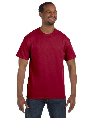 Jerzees Dri-Power Mens Active T-Shirt Medium Cardinal